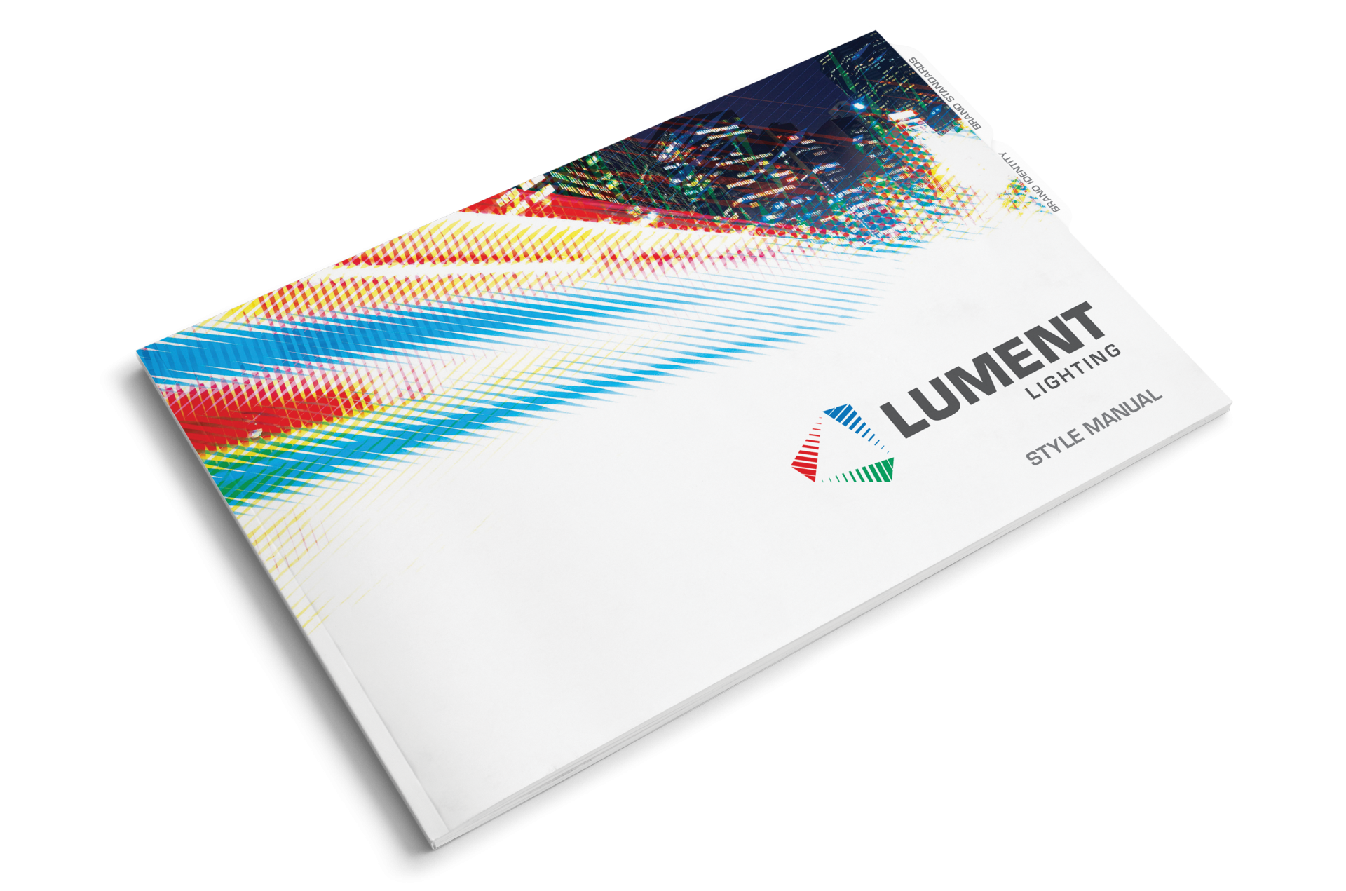 Image of Lument Lighting style manual cover