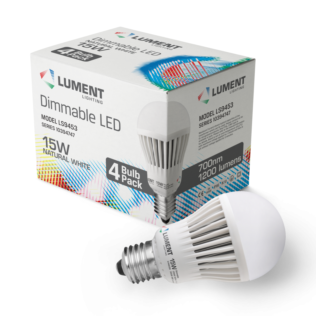 Image of Lument Lighting sample products