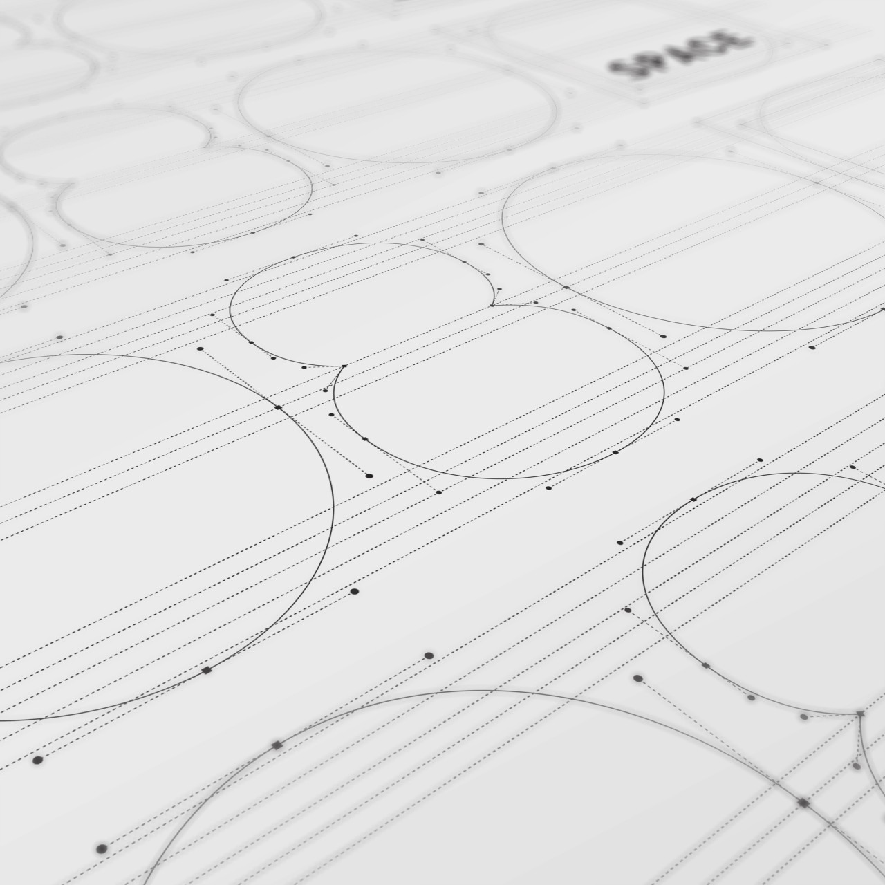 Image of 1080 Space logo process vector outlines