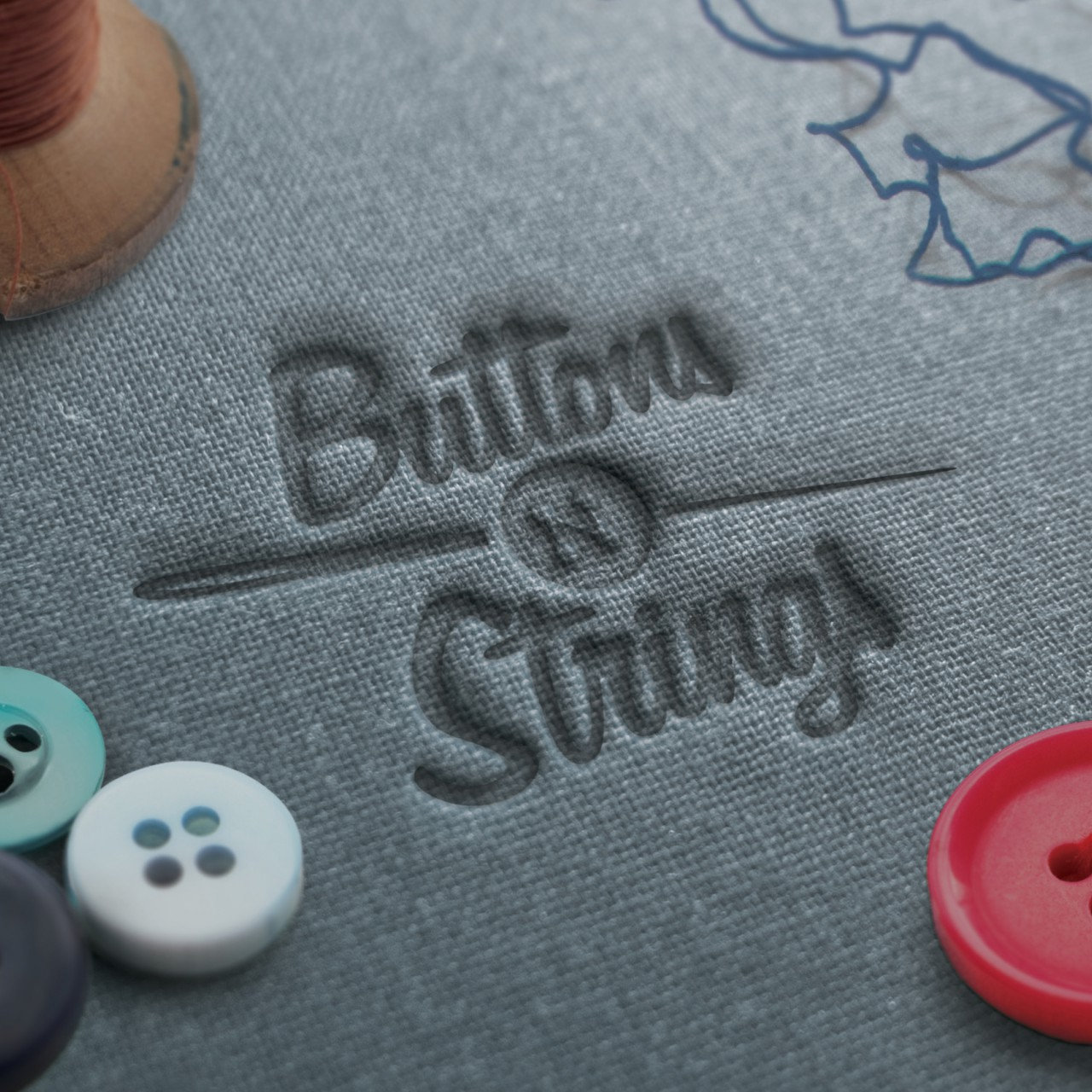 Image of Buttons 'n Strings logo comp