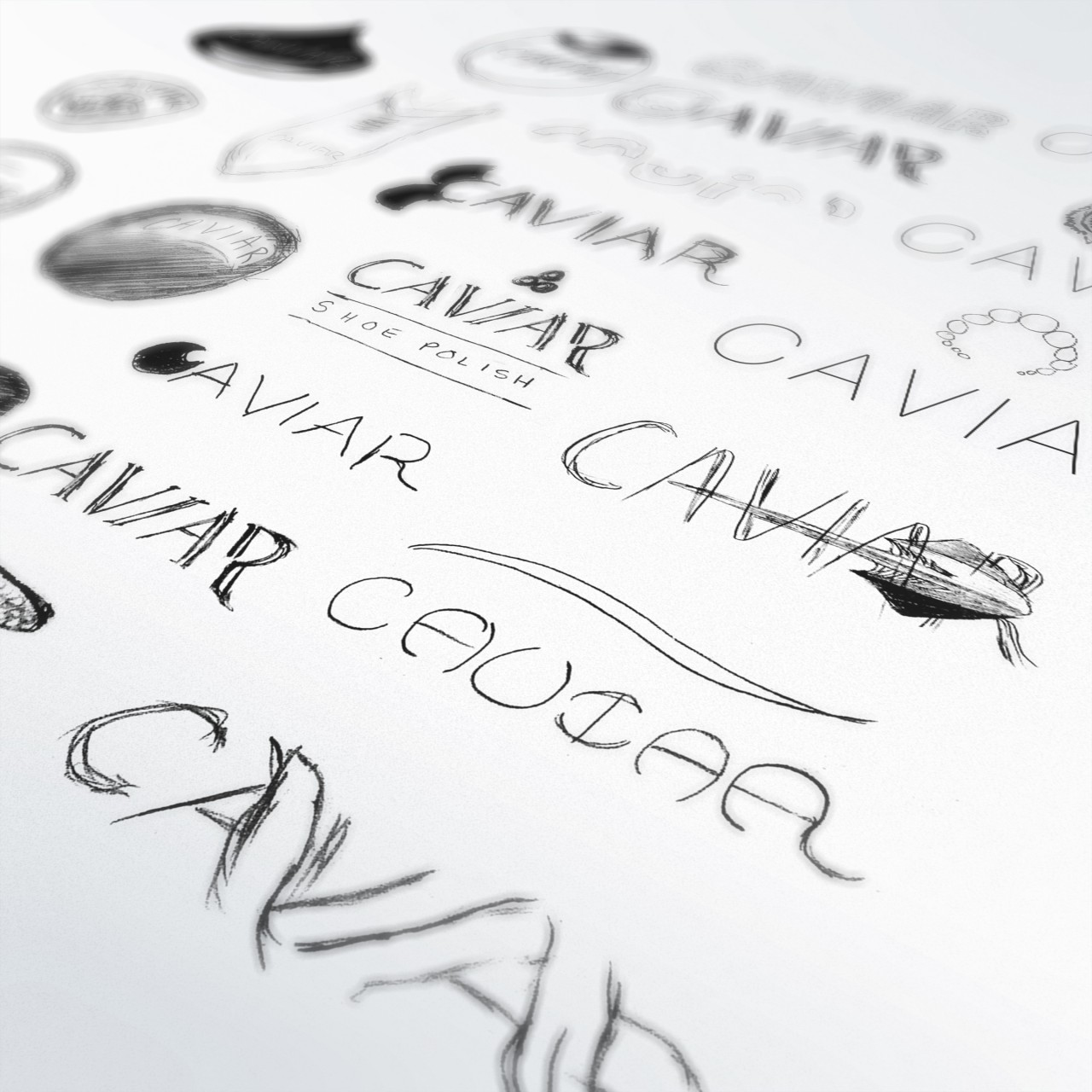 Image of Caviar Shoe Care logo explorations