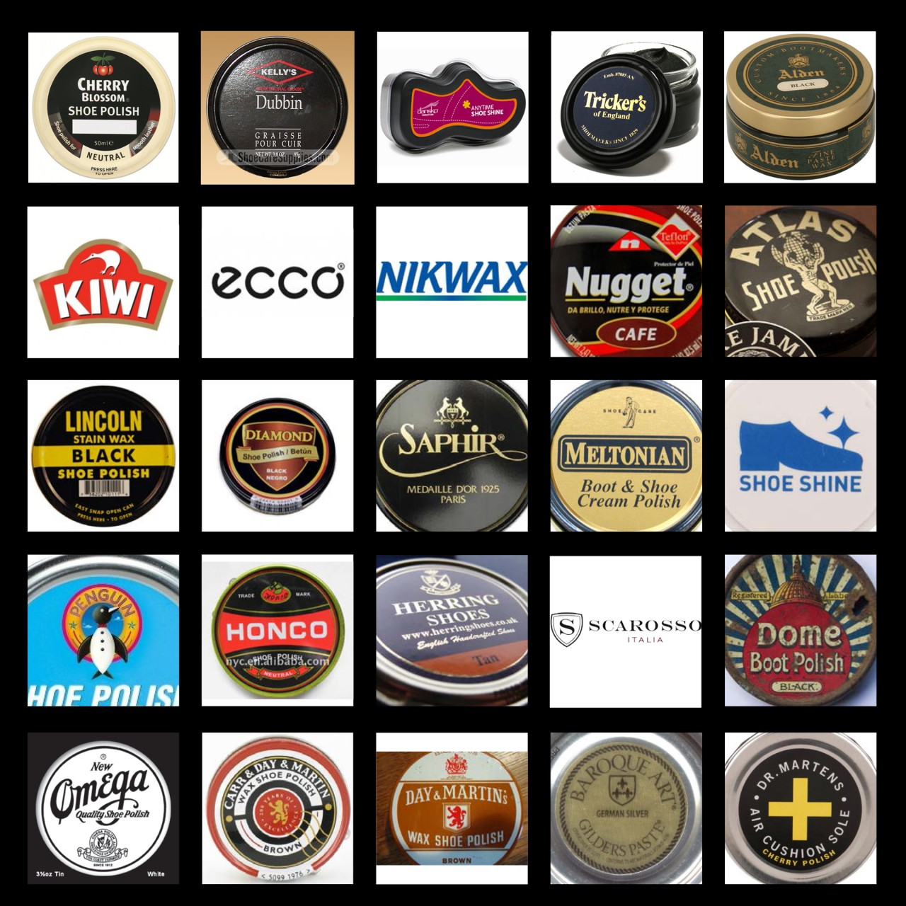 Image of Caviar Shoe Care competitive brand analysis