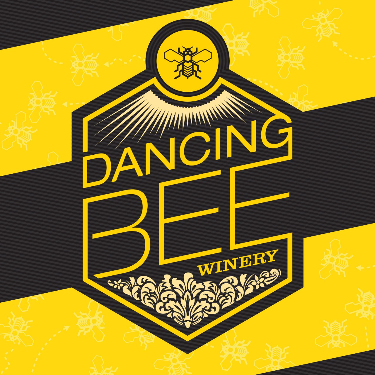 Featured image of Dancing Bee Winery: Logo