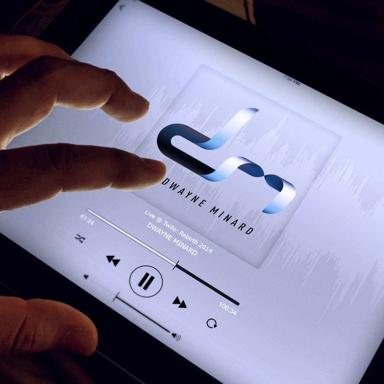 Image of Dwayne Minard logo application