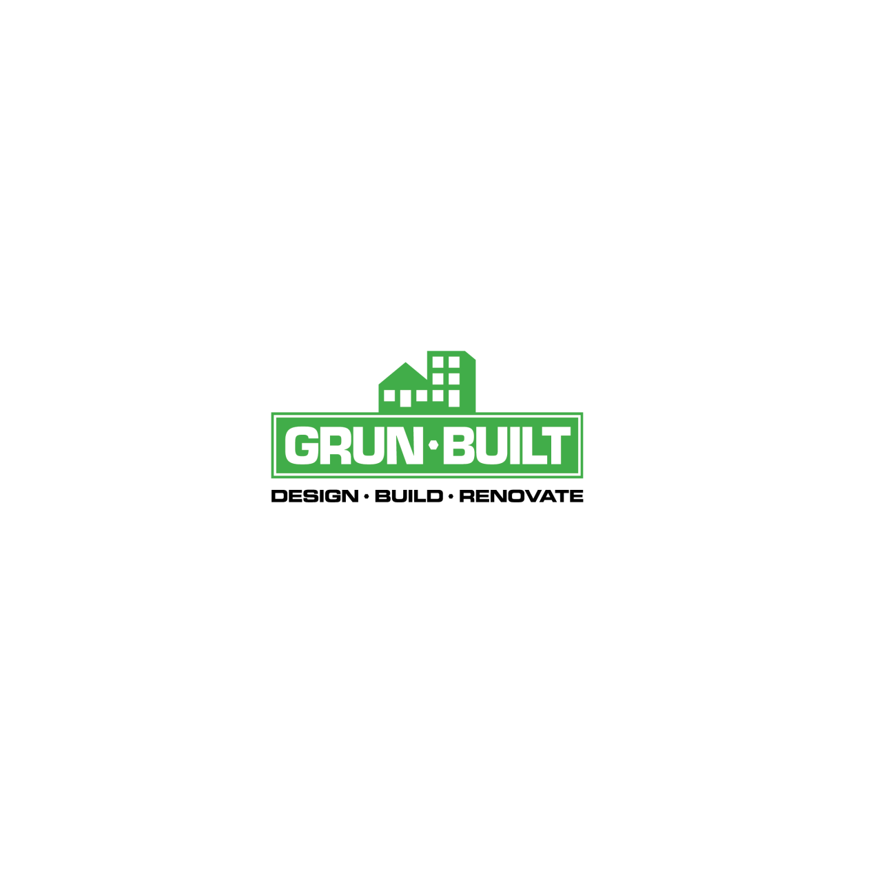 Image of Grun Built logo color alternate