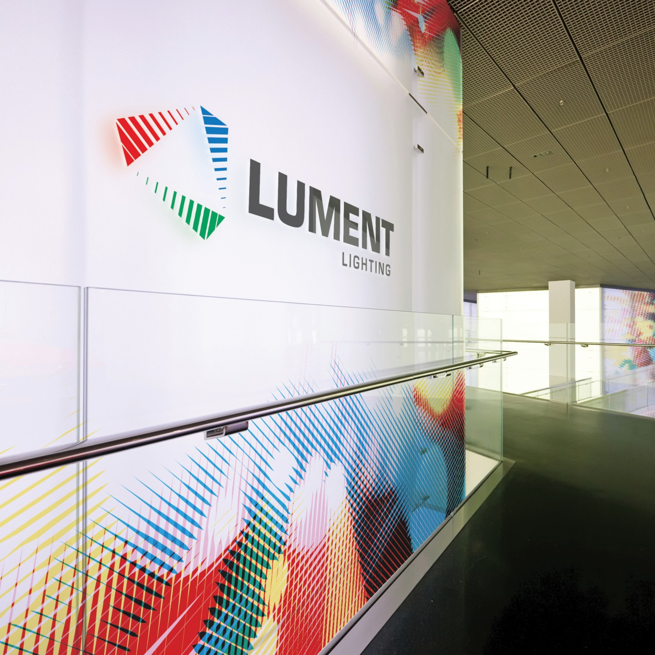 Image of Lument Lighting logo mockup