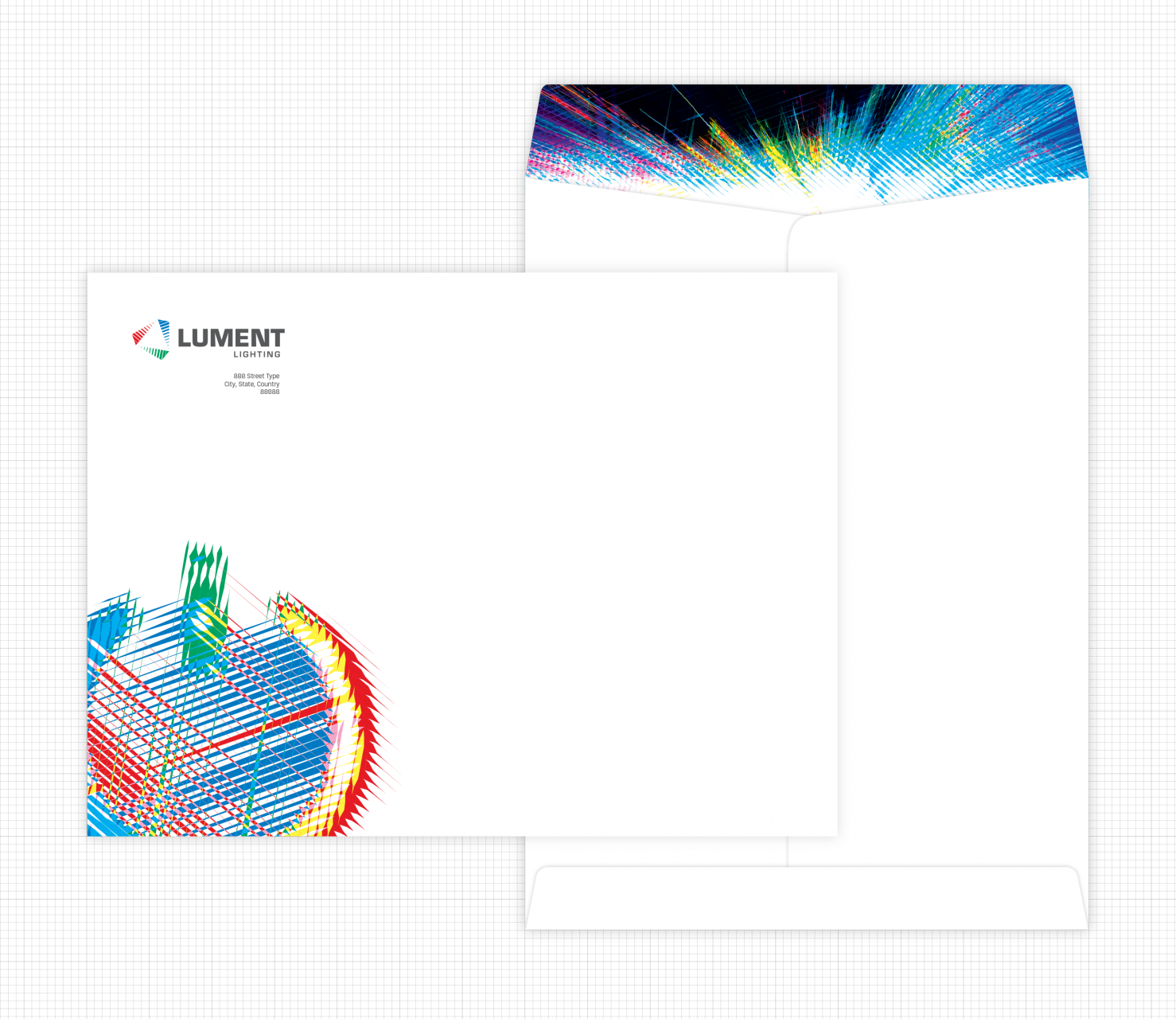 Image of Lument Lighting catalogue envelope