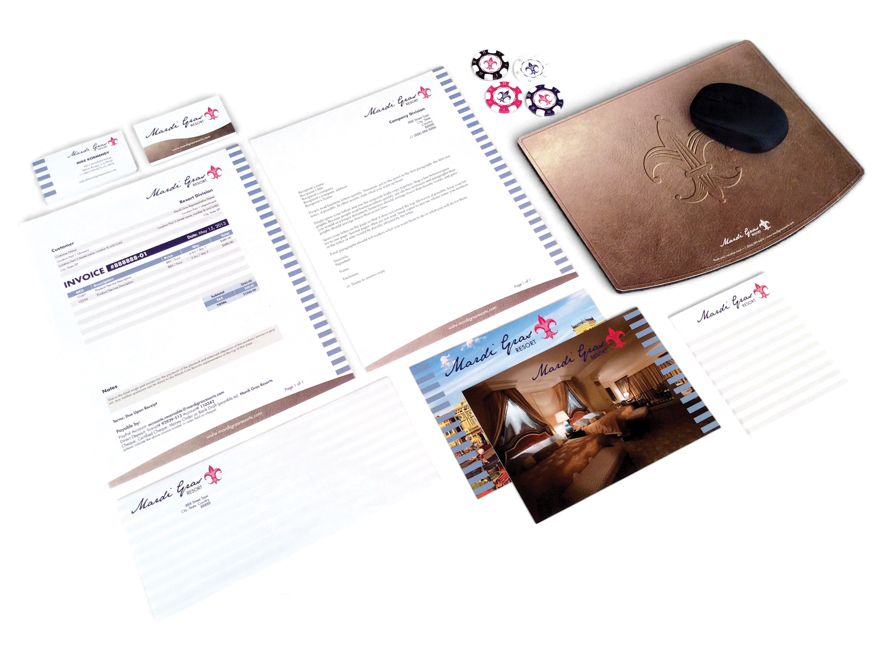 Featured image of Mardi Gras Resort: Stationery Suite