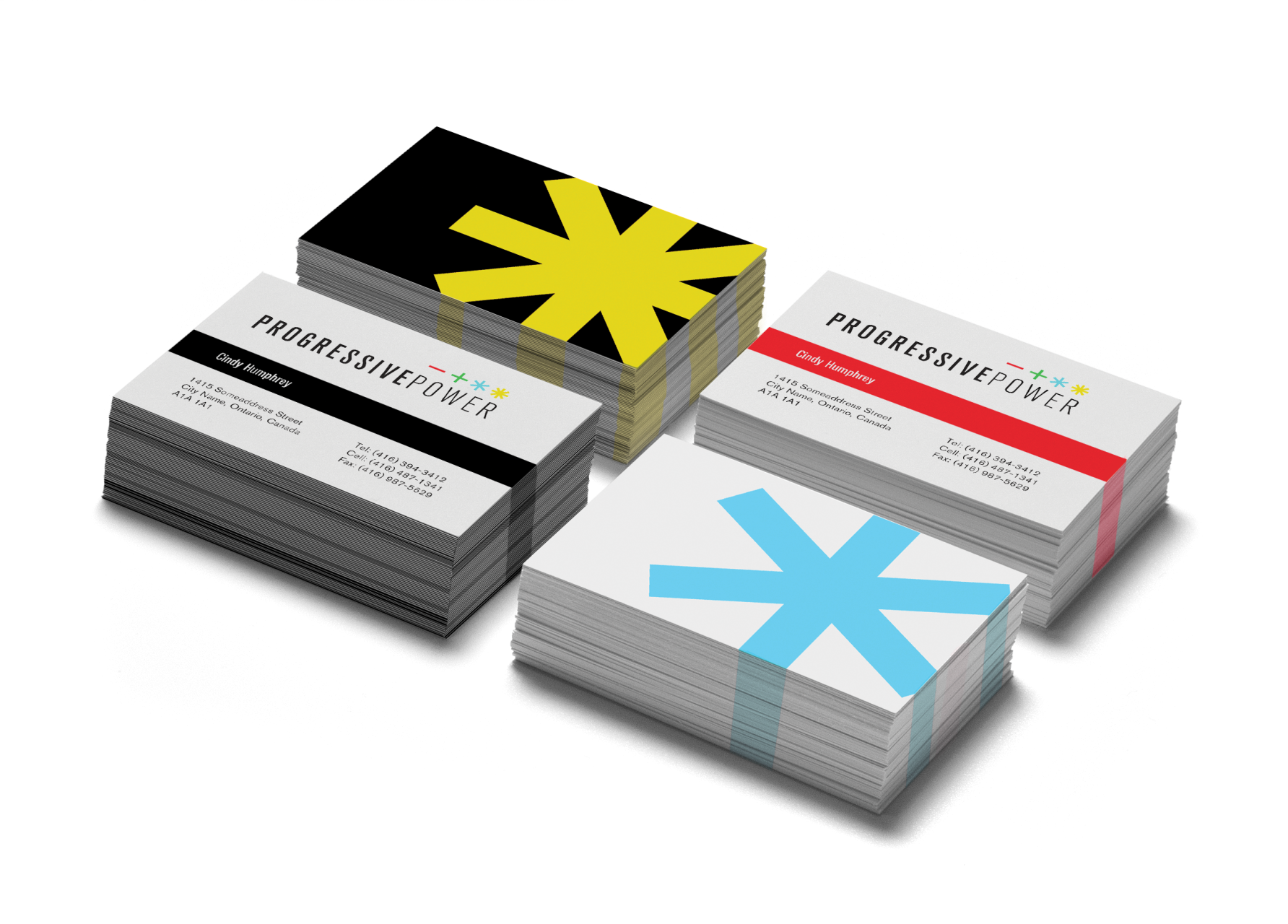 Image of Progressive Power business cards